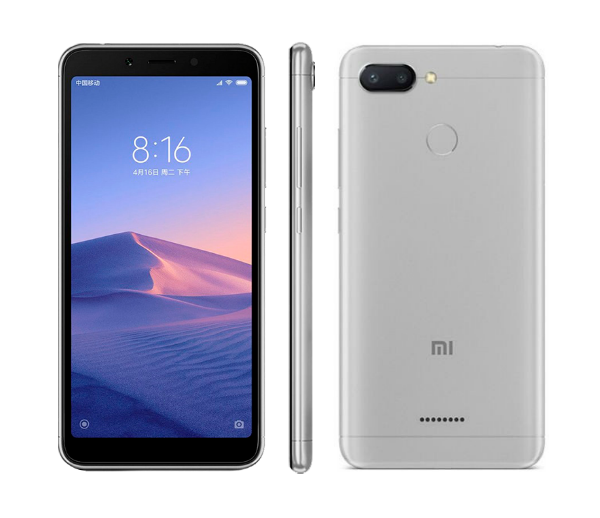 xiaomi redmi 6 gray