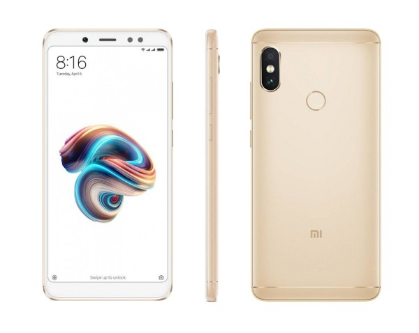 xiaomi redmi note 5 gold