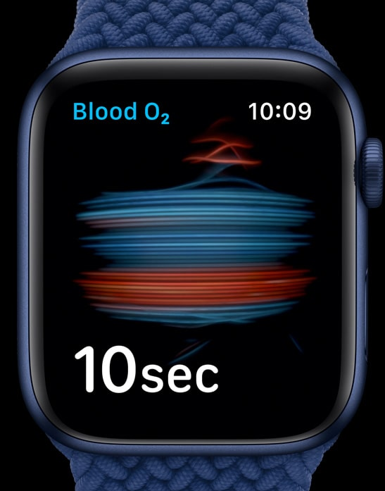 Apple Watch Series 6 sensor front